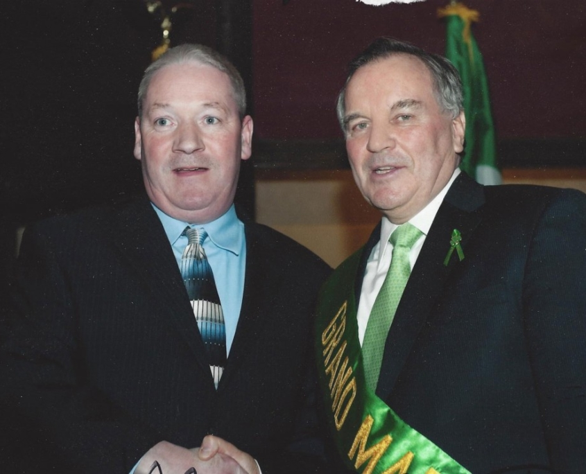 Cyril Regan and Richard M. Daley (former Mayor of Chicago)