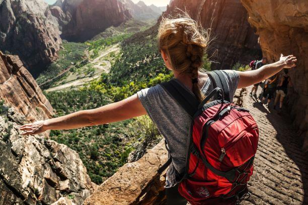 Backpacker Canyon USA