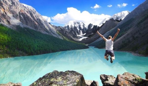 Jump in a Lake